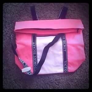 Insulated Victoria Secret Cooler carry on bag